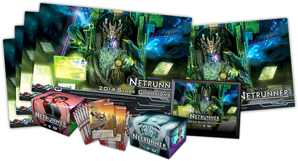 Alternate Art FFG NGO Front Tournament Kit Promo 2018 Android: Netrunner