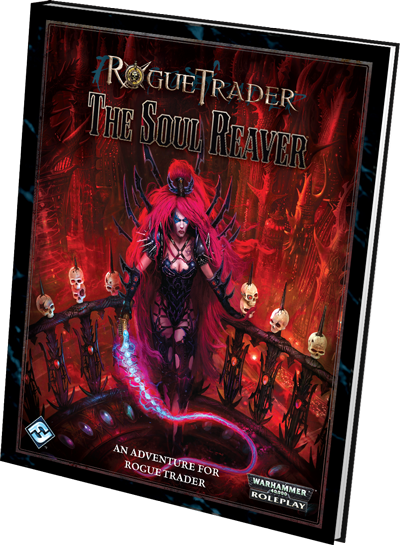 The Soul Reaver - Dark Eldar Expansion in FFG's Rogue Trader RPG Book-RT12-right