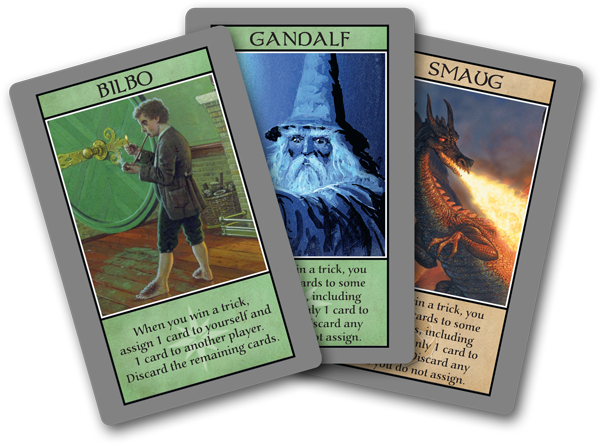 Image result for the hobbit the board game cards