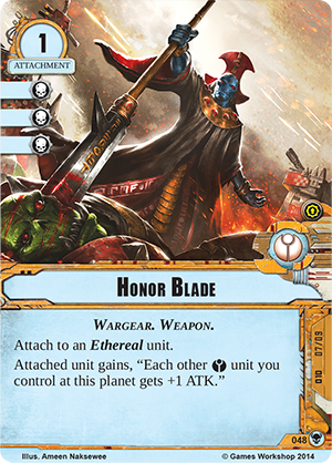 [Cycle Warlord] Gift of the Ethereals - 3ième Warpack Honor-blade