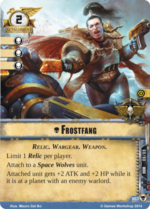 [Cycle Warlord]  The Howl of Blackbane - 1er WarPack - Page 2 Frostfang