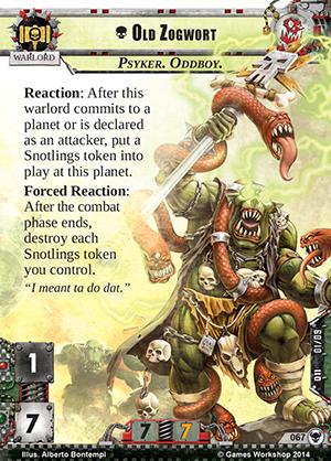 [Cycle Warlord] Zogwort's Curse - 4ième WarPack Old-zogwort