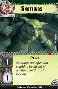 [Cycle Warlord] Zogwort's Curse - 4ième WarPack Snotlings
