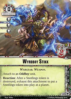 [Cycle Warlord] Zogwort's Curse - 4ième WarPack Wyrdboy-stikk