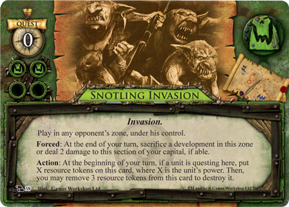 Snotling Invasion