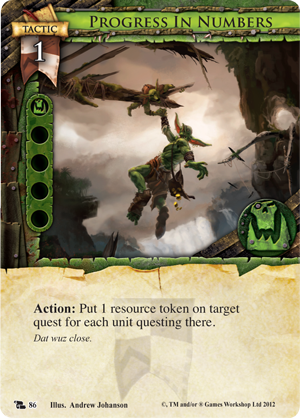 Are questing goblins a portent of doom fantasy flight games for Portent gatherer