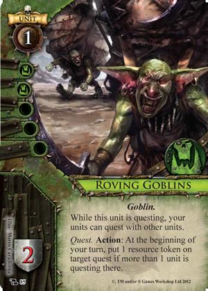 Are questing goblins a portent of doom fantasy flight games for Portent warhammer