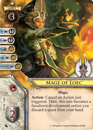 The high elves and a portent of doom fantasy flight games for Portent warhammer