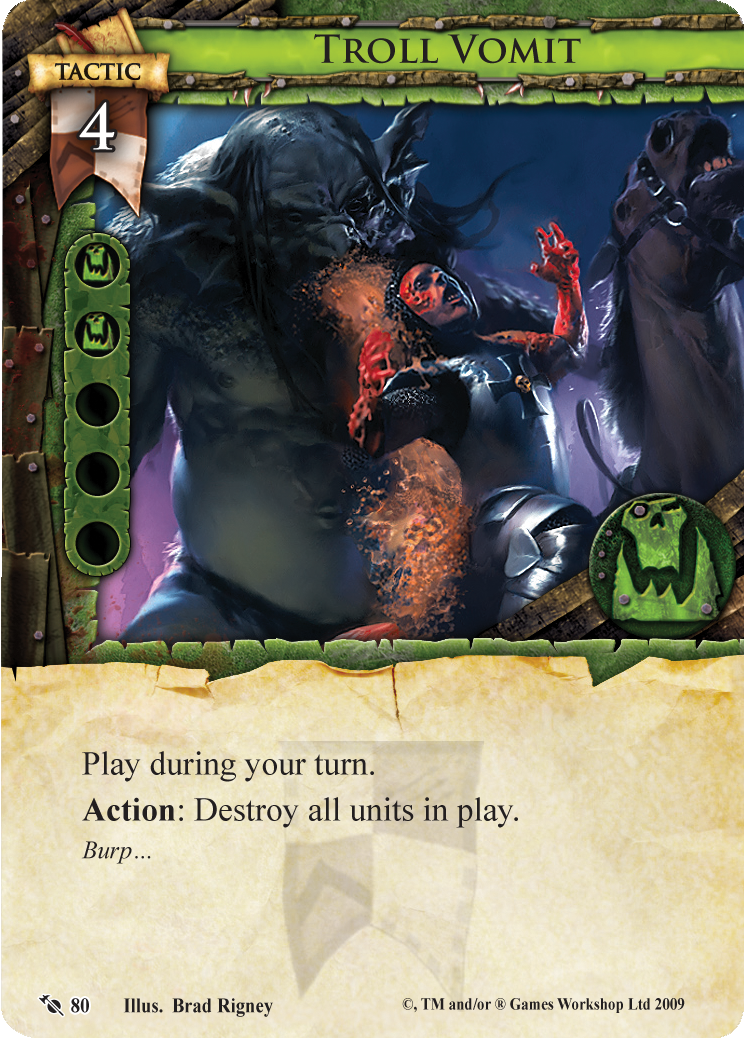 It 39 s easy bein 39 green fantasy flight games for Portent warhammer