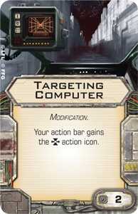X-Wing Miniatures Royal Guard TIE title upgrade card