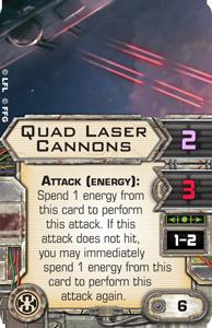 Turbolasertürme: Regeln und Werte Quad-laser-cannons