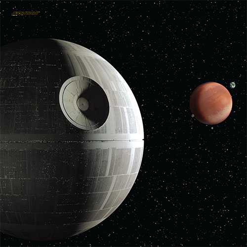 Death Star Assault Game Mat Fantasy Flight Games