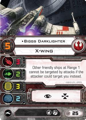 [X-wing] FAQ, erratas & Règles de tournois Biggs-darklighter