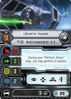 X-Wing Dark Vader