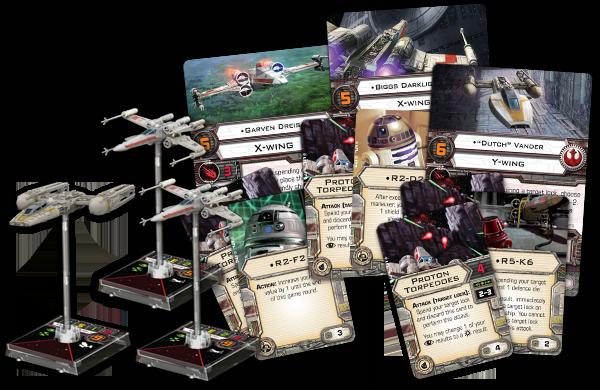 X-Wing el juego de Miniaturas [Reseña] Squad1-2
