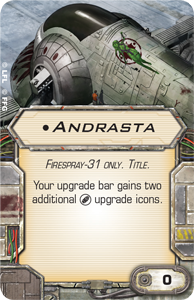 [X-Wing]Deutsche Aufrüstungskarten Übersicht Andrasta