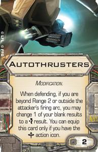 [X-Wing]Deutsche Aufrüstungskarten Übersicht Autothrusters