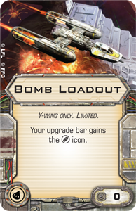 Wave VI - Scum and Villainy - NEWS !!! ONLY !!! Bomb-loadout
