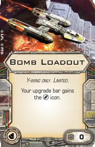 [X-Wing]Deutsche Aufrüstungskarten Übersicht Bomb-loadout