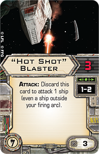 Wave VI - Scum and Villainy - NEWS !!! ONLY !!! Hot-shot-blaster