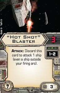 [X-Wing]Deutsche Aufrüstungskarten Übersicht Hot-shot-blaster