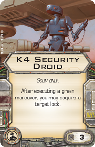 Wave VI - Scum and Villainy - NEWS !!! ONLY !!! K4-security-droid