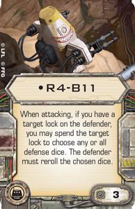 [X-Wing]Deutsche Aufrüstungskarten Übersicht R4-b11