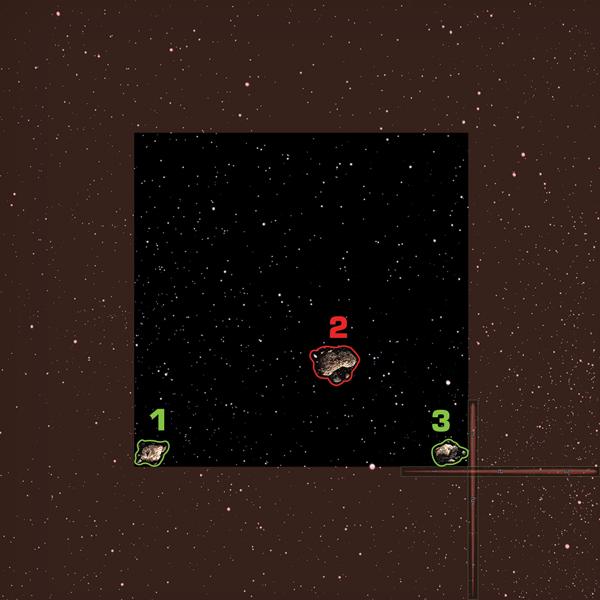 Ideales Placement der Asteroiden Asteroid-1-600