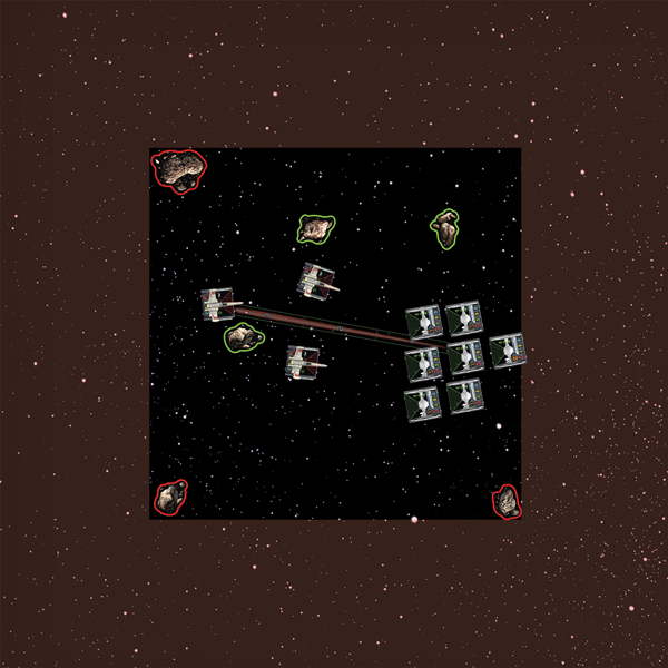 asteroid x wing placement - photo #3