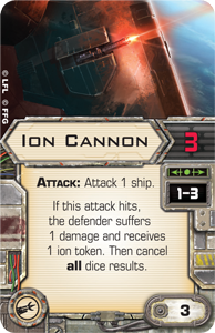 Wave VI - Scum and Villainy - NEWS !!! ONLY !!! Ion-cannon