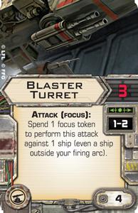 B-Wing, Lambda + Ausrüstung schon gesehen? Blaster-turret
