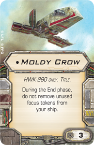 B-Wing, Lambda + Ausrüstung schon gesehen? Moldy-crow