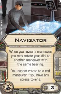 B-Wing, Lambda + Ausrüstung schon gesehen? Navigator