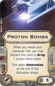 FFG News: B-Wing und Tie-Bomber Preview Proton-bombs