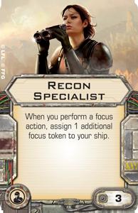 B-Wing, Lambda + Ausrüstung schon gesehen? Recon-specialist