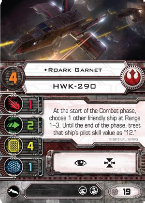 B-Wing, Lambda + Ausrüstung schon gesehen? Roark-garnet