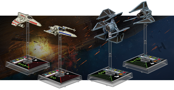 X-Wing Starwars FFG