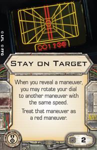 [X-wing] FAQ, erratas & Règles de tournois Stay-on-target