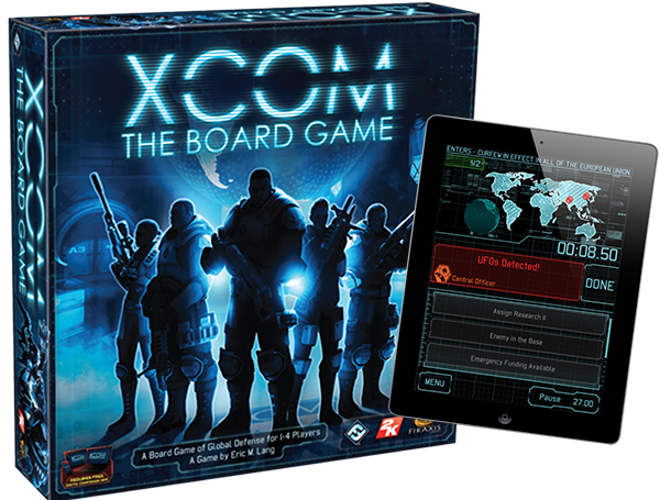 XCOM: The Board Game is a cooperative board game of global defense for ...
