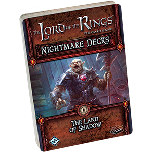 The Land of Shadow Nightmare Deck: LOTR -  Fantasy Flight Games
