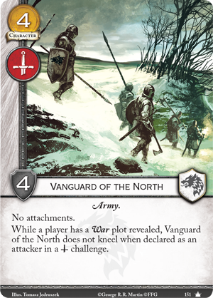 [JCE/LCG] Le Trône de Fer/A Game of Thrones 2nd Edition - Page 3 Vanguard-of-the-north