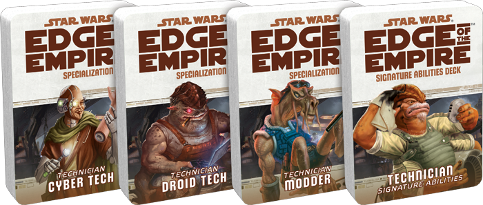Star Wars RPG: Tech Specialization and Abilities Decks