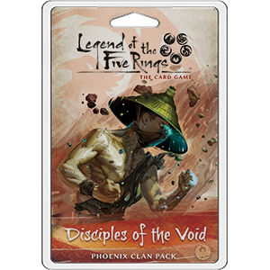 Disciples of the Void Phoenix Clan Pack: L5R LCG -  Fantasy Flight Games