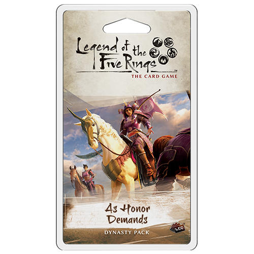 As Honour Demands Dynasty Pack: L5R LCG -  Fantasy Flight Games
