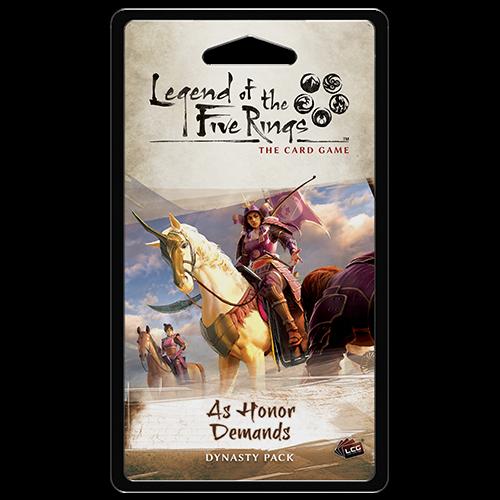 As Honour Demands Dynasty Pack: L5R LCG -  Fantasy Flight Games