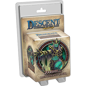 Descent: Zarihell Lieutenant Pack (T.O.S.) -  Fantasy Flight Games