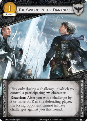 [JCE/LCG] Le Trône de Fer/A Game of Thrones 2nd Edition - Page 6 The-sword-in-the-darkness