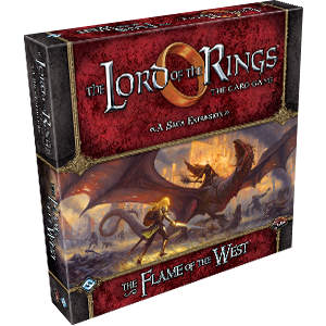 The Flame of the West Expansion: LOTR LCG -  Fantasy Flight Games