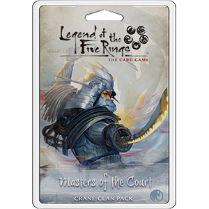 Masters of the Court Crane Clan Pack L5R LCG -  Fantasy Flight Games