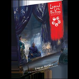 Sins of Regret: Legend of the Five Rings RPG -  Fantasy Flight Games
